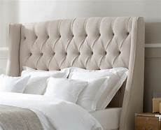 king size bed headboards fabric upholstered cushioned