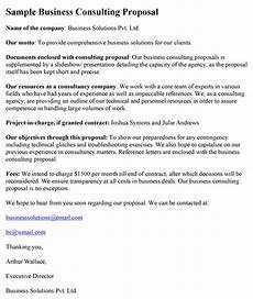 Management Consulting Proposal Consulting Proposal Template Word Excel Pdf Formats