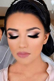 45 wedding make up ideas for stylish brides with images