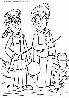 Ausmalbilder Herbst Laterne Ausmalbild Laternenfest Kinder Ausmalbilder