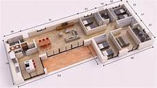madrid zaida 180m2 plan maison plan maison en u