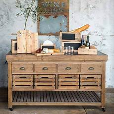 Mobile Kitchen Island In Rainwater 414385 Park Hill Rolling Kitchen Island Iron Accents