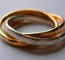Interlocking Ring Interlocking Russian Wedding Rings Felt