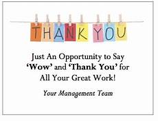 Employee Thank You Notes Thank You Quotes For Employees 3 Reality Solutions