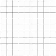 Sudoku Printable Grids Blank Sudoku Grid With Images Sudoku Free Bingo Card