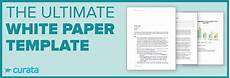 Product White Paper Template White Paper Your Ultimate Guide To Creation