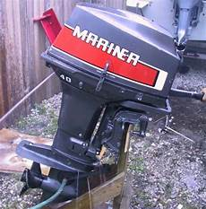 Used 40 Hp Mariner Outboard Motor For Sale Mariner Outboards
