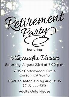 Retirement Invitations Online 10 Retirement Party Invitation Template Sampletemplatess