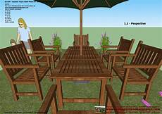 Furniture Planner Free Patio Furniture Plans Wooden Ideas Wood Working Project Plan