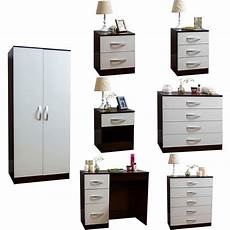 hulio drawer chest wardrobe dressing table high gloss