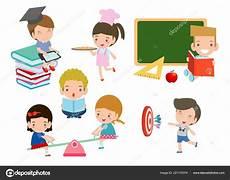conjunto ni 241 os escuela concepto educaci 243 n ni 241 os dibujos
