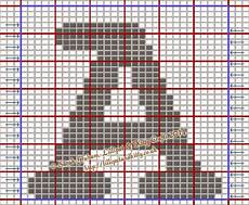 Free Charts For Knitting Courier Large Capital Letters Free Knitting Chart
