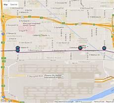 Light Rail Map Phoenix Tempe Phoenix Light Rail Station Locations And Map