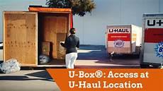 U Haul U Box U Box 174 Moving And Storage Containers Access At U Haul