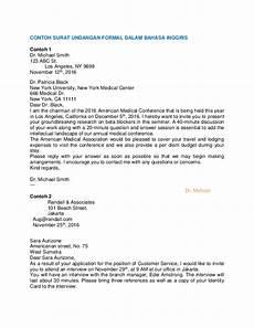 doc contoh surat undangan formal dalam bahasa inggris