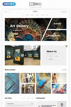 Gallery Template Art Gallery Multipage Html5 Template