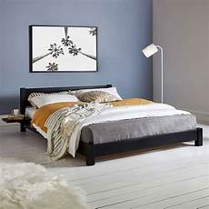 low wooden bed frame by get laid beds