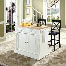 crosley kitchen islands crosley furniture butcher block top kitchen island in