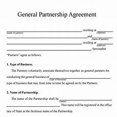 Simple Partnership Agreement Free 24 Partnership Agreement Templates In Google Docs