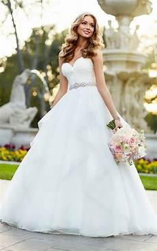 Design Your Wedding Dress Free Strapless Organza Ball Gown Wedding Dress Stella York