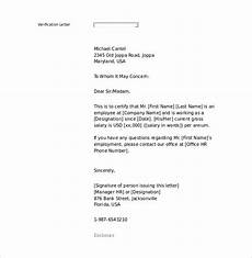 Proof Of Employment Templates 15 Letter Of Employment Templates Doc Pdf Free