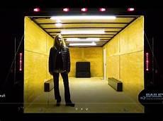 Enclosed Trailer Interior Led Light Kit Work Trailer Lighting Youtube