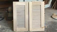 amazing woodworking shutter doors how to build shutter