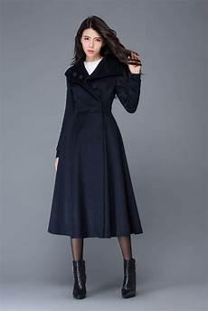 midi wool coat wool coat womens winter coats dress coat etsy