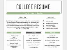 Education Experience Resume Education Section Resume Writing Guide Resume Genius