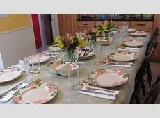Spring: Setting the Table   Multi Cultural Cooking Network