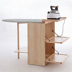 mobile ironing board cabinet