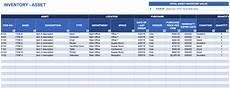 Asset Record Template Free Excel Inventory Templates