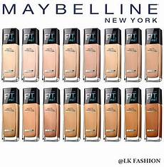 Maybelline Better Skin Foundation Colour Chart Qoo10 Maybelline Fit Me Matte Poreless Foundation