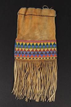 beadwork bag beaded bag 20th c northern plains indian t