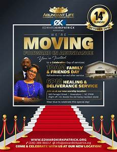 New Church Opening Flyer Our Church Is Moving Read To Find Out Where Amp Join Us For