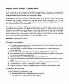 Regional Sales Director Job Description Free 10 Sample Accounting Manager Job Description
