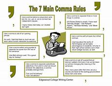 Rules For Comma Usage My Everyday English The 7 Main Comma Rules