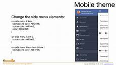 Moodle Mobile Themes Creating Moodle Mobile Remote Themes