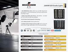 Flux Light Settings Led Studio Lighting For Cheap Price