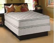 princess plush size pillowtop mattress and box