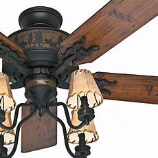 Log Cabin Ceiling Fans With Lights Details About Hdc 52 In Indoor Bronze Organza Shade