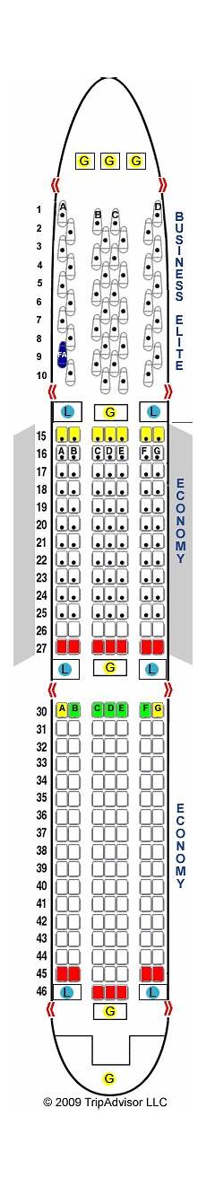 Boeing 767 400 Seating Chart Delta 767 Seating Chart Brokeasshome Com
