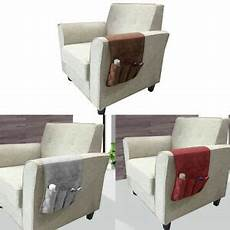 1 pc sofa chair arm rest bedside hanging caddy pockets