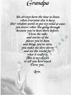 Funeral Speech For Grandpa Grandpa And Me Poem It Will Be Posted To You In A Board