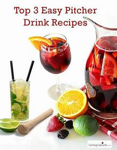 top 3 easy pitcher drink recipes ebay