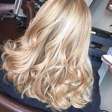 Light Champagne Hair Full Head Of Champagne And Soft Woven High Lights