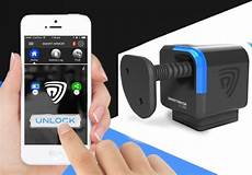 smart cube smartphone controlled portable bluetooth lock