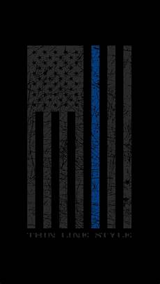 iphone x wallpaper thin blue line thin blue line wallpapers 50 images