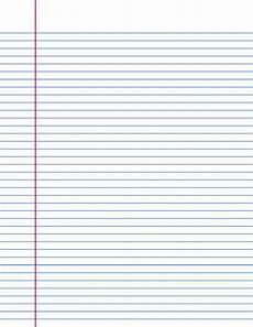 Notebook Paper Template For Word 17 Lined Paper Templates Excel Pdf Formats