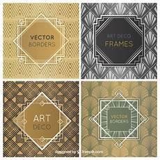 Art Deco Vector Art Deco Frames Free Vector